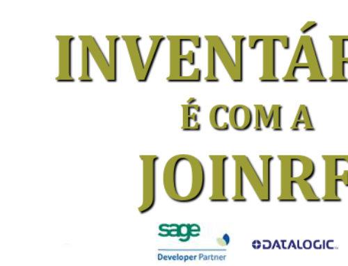 Inventário é com a JoinRF